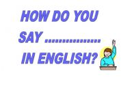 English Worksheet: posters for your classroom