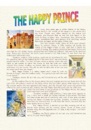 the happy prince introduction Let me introduce myself, my name is eilidh fraser and i am an aspiring  'the  happy prince' is the story of a statue erected in a city to the.