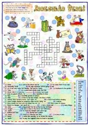 English Worksheet: Past simple - Irregular verbs (1 of 2)