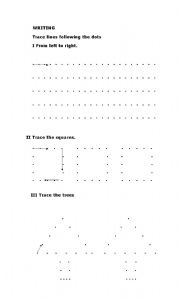 English Worksheets: TRACES
