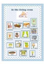 English Worksheet Furniture 5 6