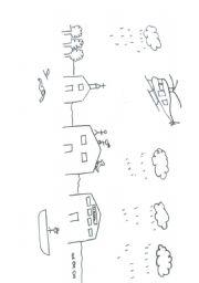 english worksheets drawing dictation. Black Bedroom Furniture Sets. Home Design Ideas