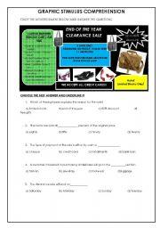 English Worksheets: Graphic Stimulus