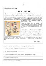 test on the topic HOME - 7th form