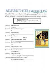 English Worksheets: Presenting myself