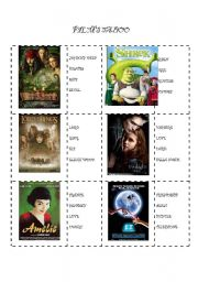 English Worksheets: Films Taboo