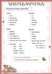 English worksheets greeting closing conversation english worksheet greeting closing conversation m4hsunfo