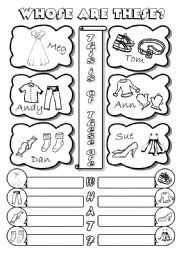 English Worksheet: The