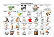 English Worksheet: Verbs of Food and Cooking
