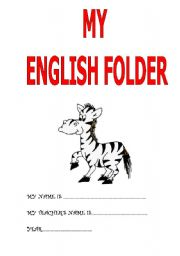 English Worksheets: COVER