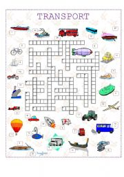 Transport crossword (corrected)