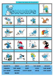 SMURFS IV - DESCRIPTIONS