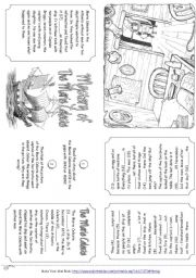 English Worksheet: The Mystery Of The Marie Celeste (Story Mini Book)