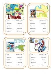 Country cards 1