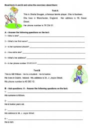 Reading Comprehension and asking questions - elementary