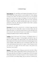 English Worksheets: film