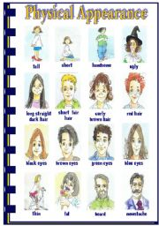 adjectives to describe physical appearance pdf
