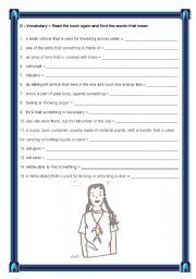 English Worksheets: Extensive reading - Maisie and the dolphin - page 6 / 7