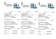 English worksheet: All my loving