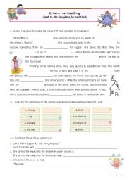 Extensive Reading for advanced students  -  A Lamb to the Slaughter, by Roald Dahl  -- Lessons 3 an 4 (5 if you do the quiz)