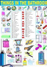 Bathroom Accessories Names In English - Bathroom accessories names list