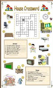 House crossword