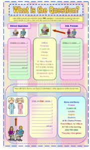English Worksheets: WH-  Personal Questions