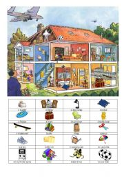 English Worksheets: What a mess !