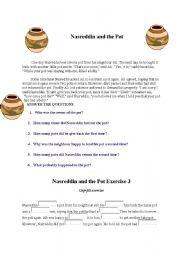 English Worksheets: nasrettin