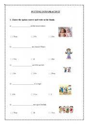 Worksheets - personal pronouns worksheet free esl printable worksheets ...