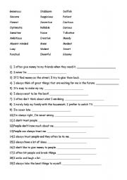 Worksheet Character Traits Worksheets character traits worksheet by hyoger english traits