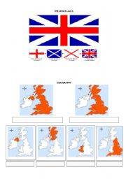 English Worksheets: Geography of the U.K. and Great Britain.