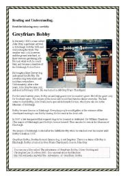 Greyfriars Bobby - A famous dog from Edinburgh