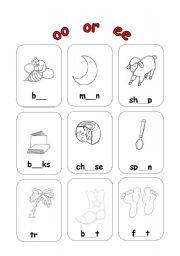 Worksheets Oo Worksheets english worksheet oo or ee
