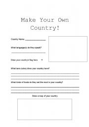 Printables Make Your Own Worksheet create your own worksheets vintagegrn english teaching countries intermediate esl make country