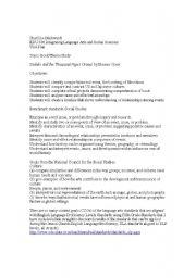 English Worksheets: Sadako Unit Plan