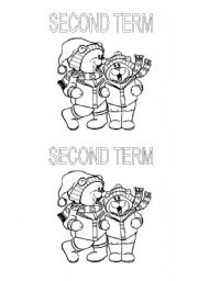 English Worksheets: Second term