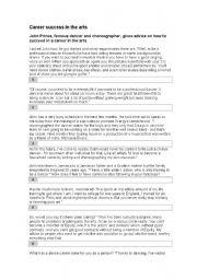 English Worksheets: Exercise 1