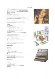 English Worksheet: Ka-Ching !