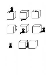 prepositions with cats