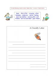 English Worksheets: letter