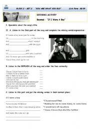 English Worksheets: Beyoncé :