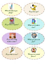 English Worksheets: personal questions- set 4