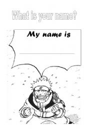 English Worksheets: What´s your name?