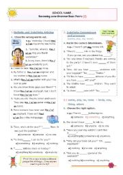 Reviewing some Basic Grammar Points  (2)
