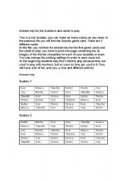 English Worksheets: Sudoku with F*R*I*E*N*D*S characters! - PART 2