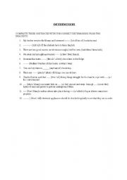 determiners worksheets with answers pdf