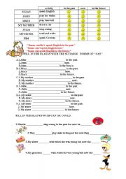 English Worksheets: AB�L�TY
