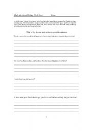 English Worksheets: Much to do About Nothing: Work Sheet