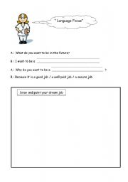 English Worksheets: Career
